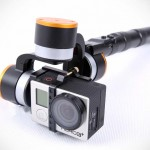 SteadyGim3 EVO Stabilizes Your GoPro and Recharges It Too