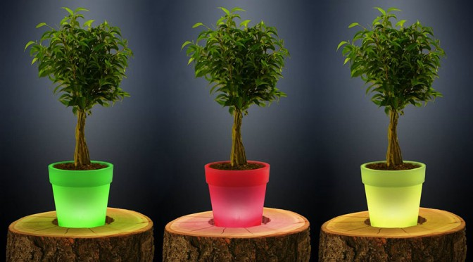 This Pot Is Loaded With Tech To Keep Your Plants Happy and Healthy, And Help Look After Your House Too