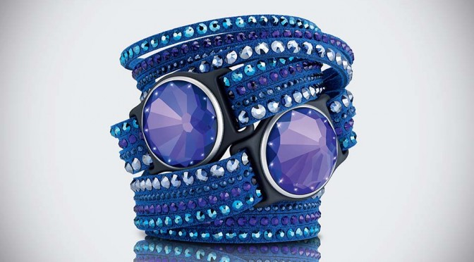 Violet Swarovski Shine Activity Tracker