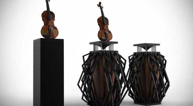 Meet The World's First Speaker In The Shape Of A Violin. Yes. We Said Violin.