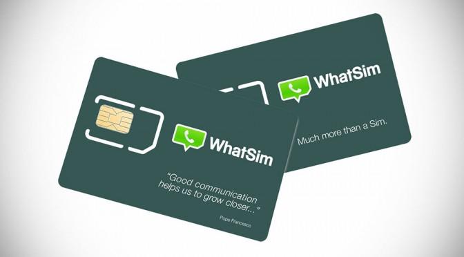 WhatSim SIM Card for Whatsapp
