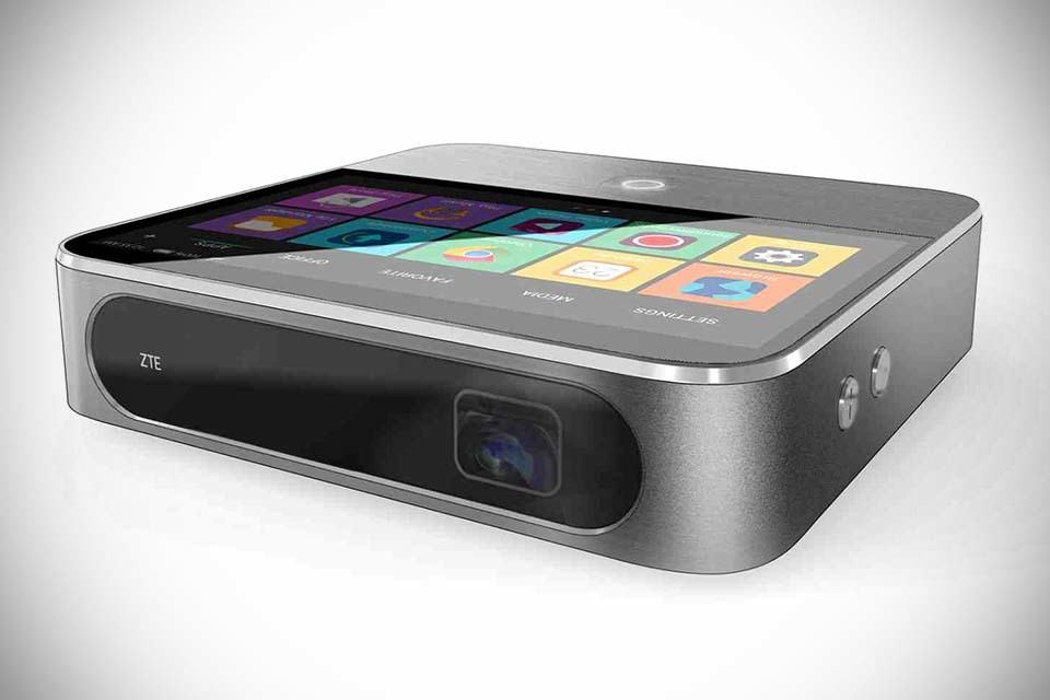 zte s 2nd generation android smart projector looks