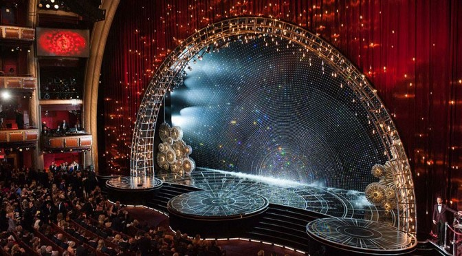 Swarovski Decorates The 2015 Oscars with 95,000 Crystal