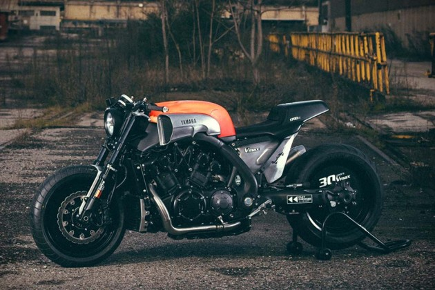 "2015 Yamaha VMAX ""Infrared"" by JvB-moto"