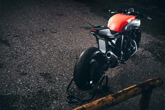 """2015 Yamaha VMAX """"Infrared"""" by JvB-moto"""
