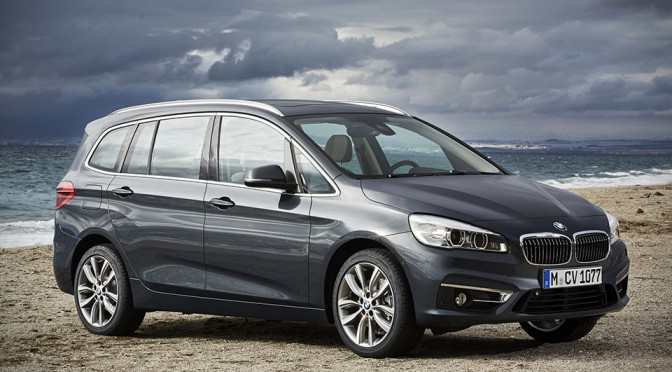 That's No M2, It Is BMW's First People Mover, the 2 Series Gran Tourer