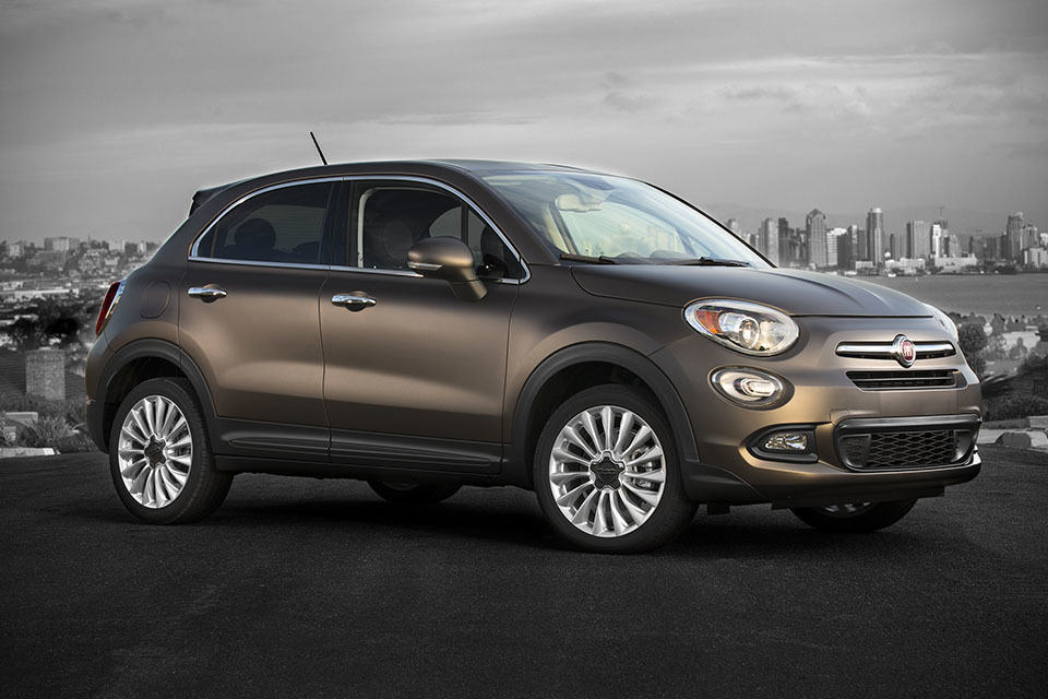 fiat 500x crossover hits u s market in q2 priced at. Black Bedroom Furniture Sets. Home Design Ideas