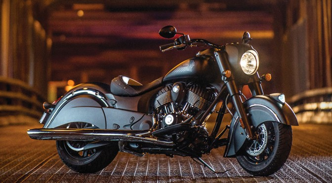 Meet Indian Motorcycles' First Model of 2016, Indian Chief Dark Horse