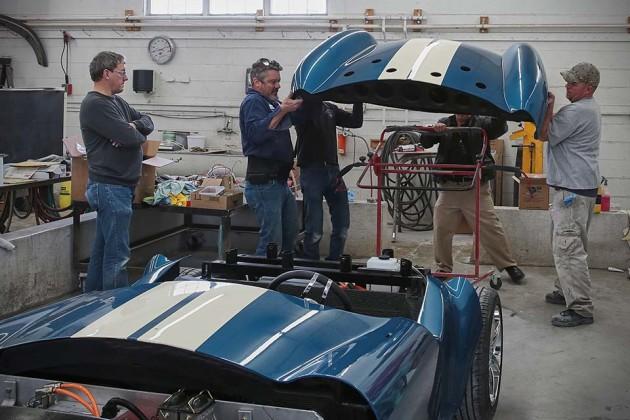 3D-printed Shelby 427 Cobra at NAIAS 2015