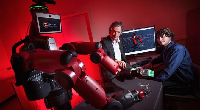 DARPA Visual Sensing Robot by University of Maryland