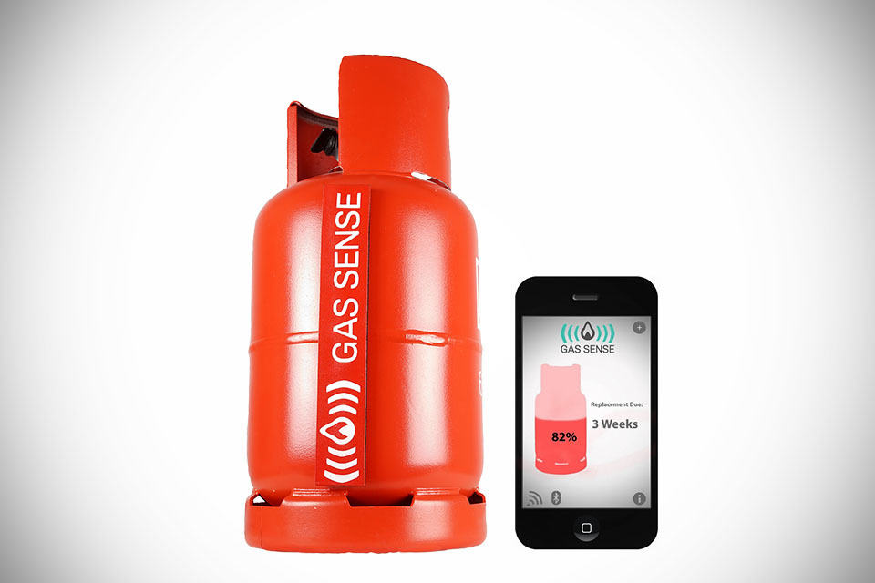 Gas Sense Lets You Check Your Lpg Tank Level In Real Time