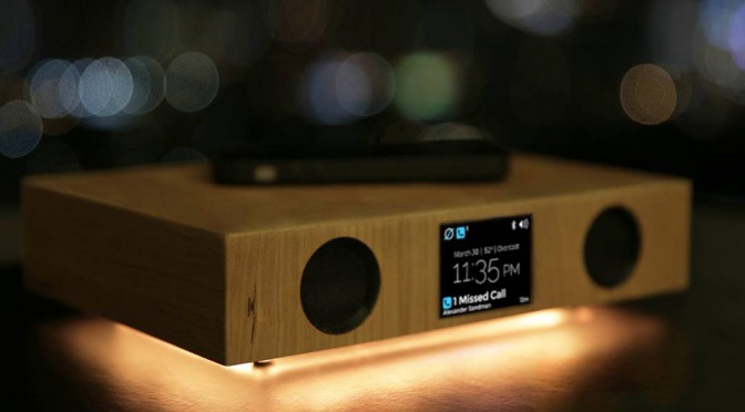 Meet Glowdeck, It Will Charge Your Phone Wirelessly, Plays Music and Has LED Light to Spice Things Up