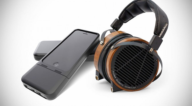HiFi-Skyn iPhone Case with built-in DAC and Headphone Amplifier