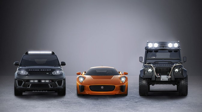 Jaguar C-X75 in James Bond Spectre