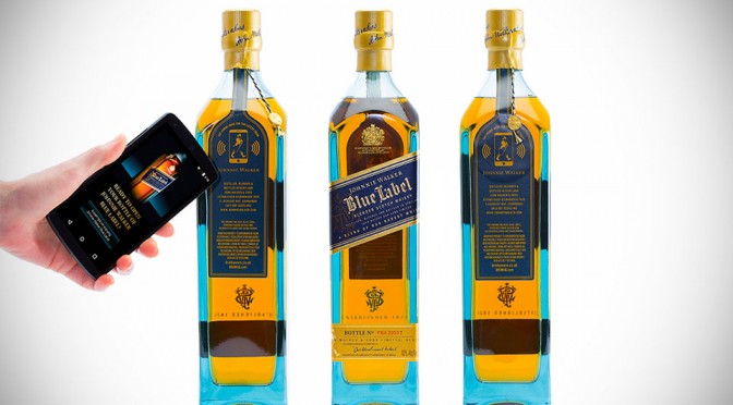 Johnnie Walker Blue Label Smart Bottle