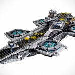 Official LEGO Marvel Superheroes: The SHIELD Helicarrier Has 2,995 Pieces, Available from March for $250