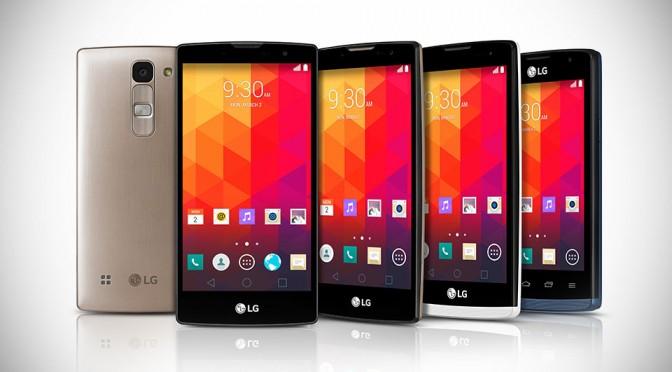 LG Watch Magna, Spirit, Leon and Joy Smartphones at MWC 2015