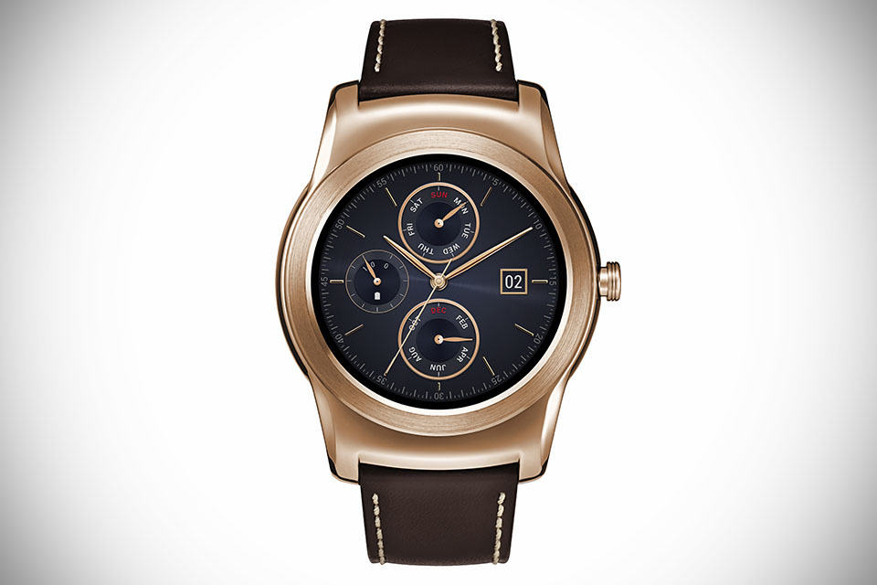 LG Goes 'Luxury' with All-metal Android Wear Device, LG ...