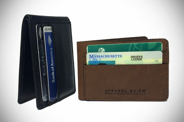 Minimalistic Handcrafted Slim Wallet by Apparel by PW