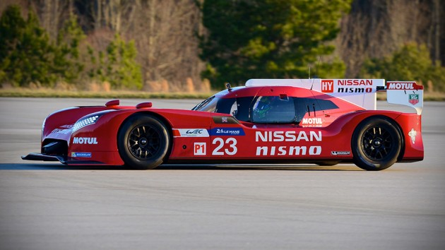 Nissan GT-R LM NISMO Race Car