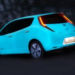 Look. Nissan Has a Glow-in-the-Dark Car That Glows for up to 10 Hours After the Sun Goes Down