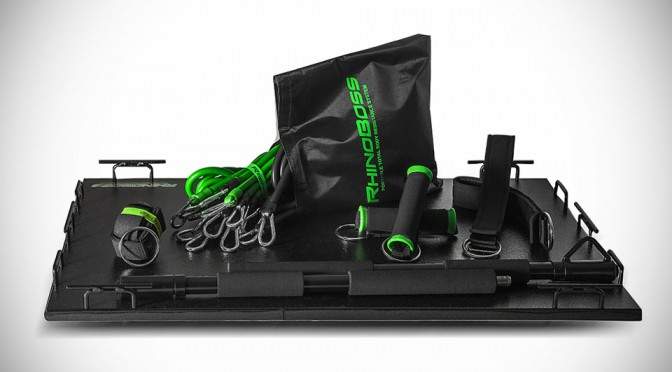 RhinoBoss Resistance Band System Wants to be Your Home Gym, Comes Complete Live Virtual Trainers Too