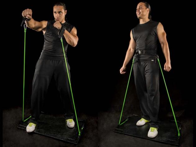 RhinoBoss Resistance Band System and Virtual Gym