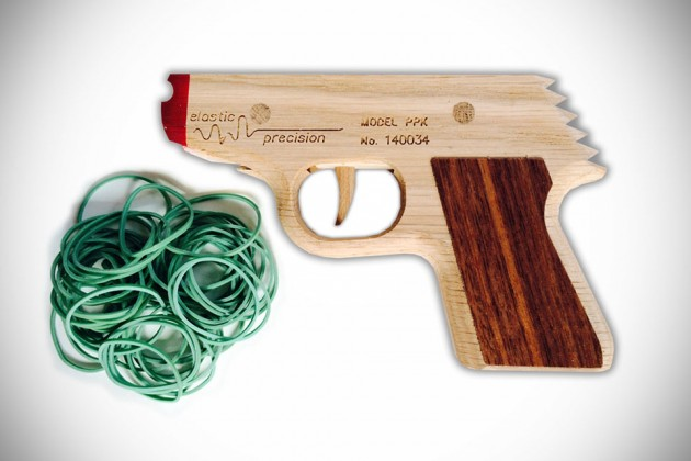 Rubber Band Guns by Elastic Precision