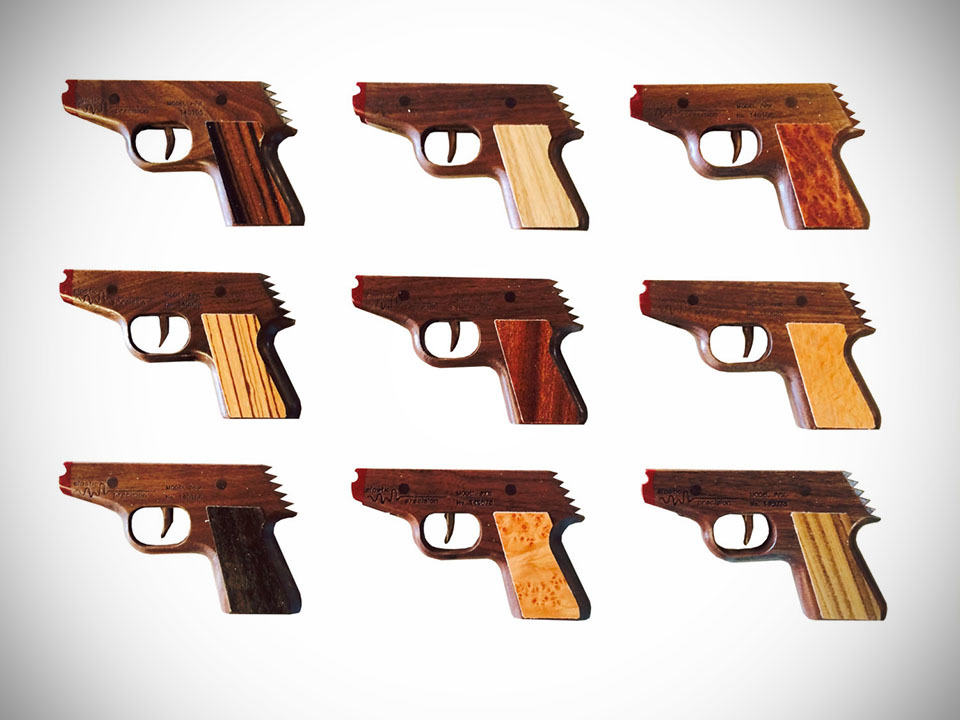 Forget About Your Heirloom Worthy Rubber Band Gun Here