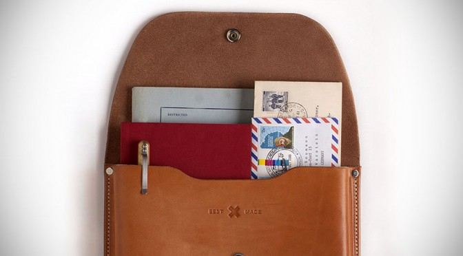 The Gfeller Document Case by Best Made Co.