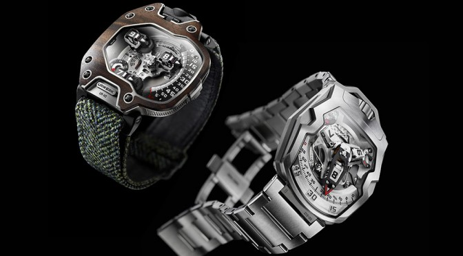 """URWERK UR-110 """"East Wood"""" and UR210S """"Full Metal Jacket"""" Watches"""