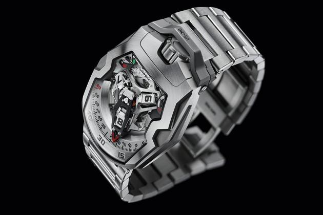 """URWERK UR-210S """"Full Metal Jacket"""" Watch"""