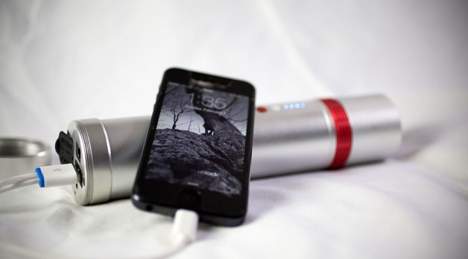 VIS Flashlight and Portable Battery by Jumper Power Banks