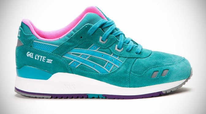 "ASICS Kicks Up Spring with Vibrant Gel Lyte 3 ""Waterproof Pack"" Sneakers"