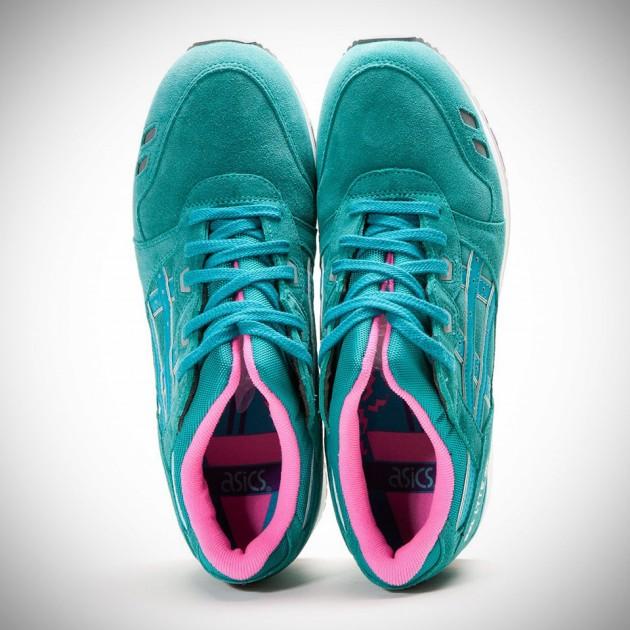 """ASICS Gel Lyte 3 """"Waterproof Pack"""" Shoes - Tropical Green"""