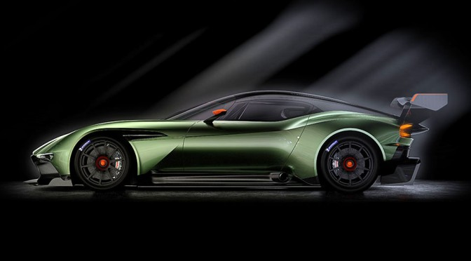 Aston Martin Introduces 800+ Horsepower Track-only Vulcan at 85th Geneva Motor Show