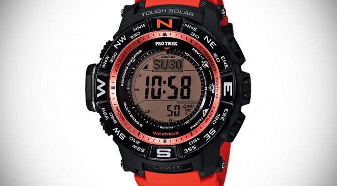 Casio's New PRO TREK Watch Gets 200 Meter Water Resistant