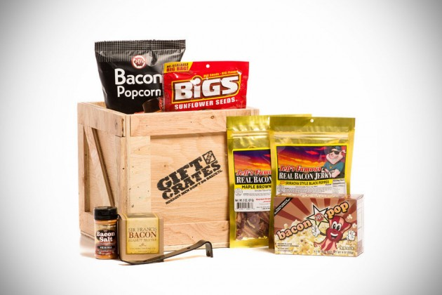 Gift Crates for Men - Bacon Crate
