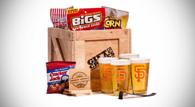 Basket Ain't For Men, But a Crate Stuffed with Goodies, Complete with Crowbar, Definitely is