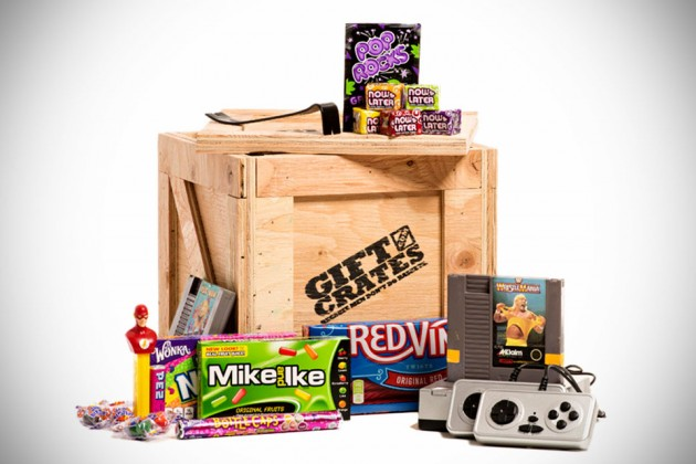 Gift Crates for Men - Video Games Crate