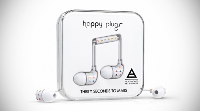 Happy Plugs Triad In-ear Headphones by Thirty Seconds to Mars