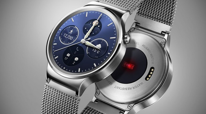 Huawei's First Smartwatch, Huawei Watch, is Probably the Least Geekiest Wearable of All