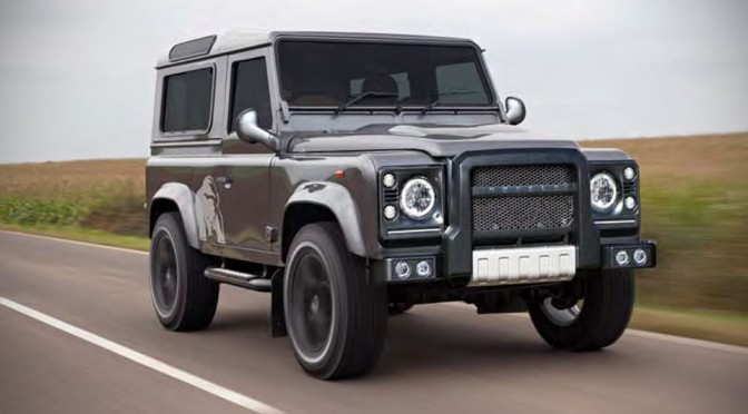 Land Rover Defender Silver Bear by HOFELE-DESIGN