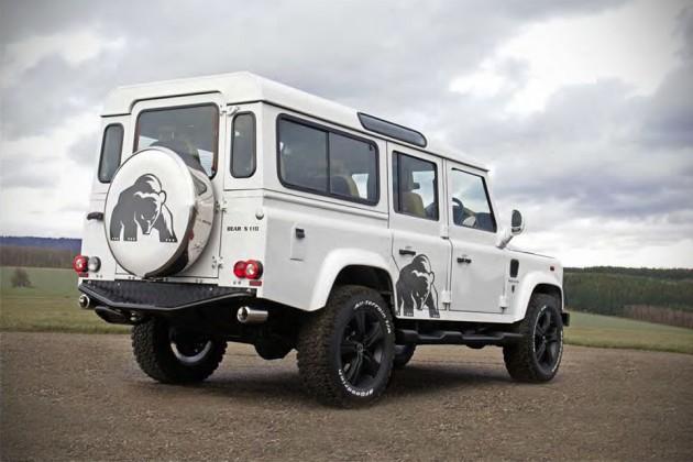 Land Rover Defender Silver Bear by HOFELE-DESIGN