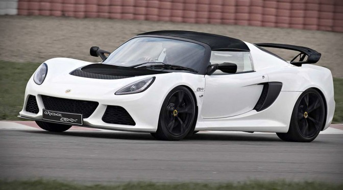Lotus Shaves 33 lbs Off Exige S and Calls it Exige S Club Racer