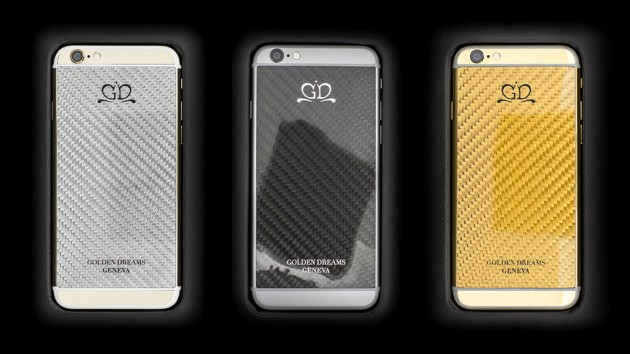 Luxury iPhone 6 by Golden Dreams - Carbon Fiber Edition