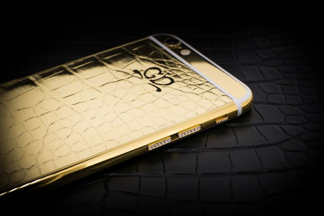 Luxury iPhone 6 by Golden Dreams - Desert Edition Gold with Diamonds