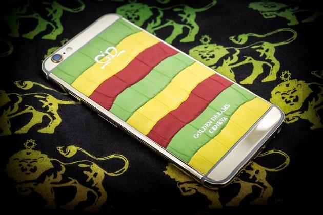 Luxury iPhone 6 by Golden Dreams - Desert Edition Jamaique