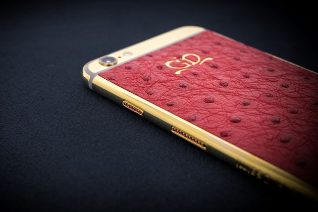 Luxury iPhone 6 by Golden Dreams - Desert Edition Ostrict with Rubies