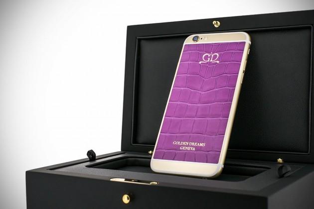 Luxury iPhone 6 by Golden Dreams - Desert Edition Purple